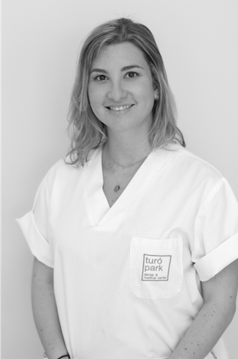 Alexandra Cubero dentist in Barcelona