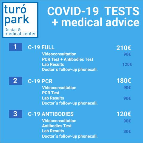 price test covid 19