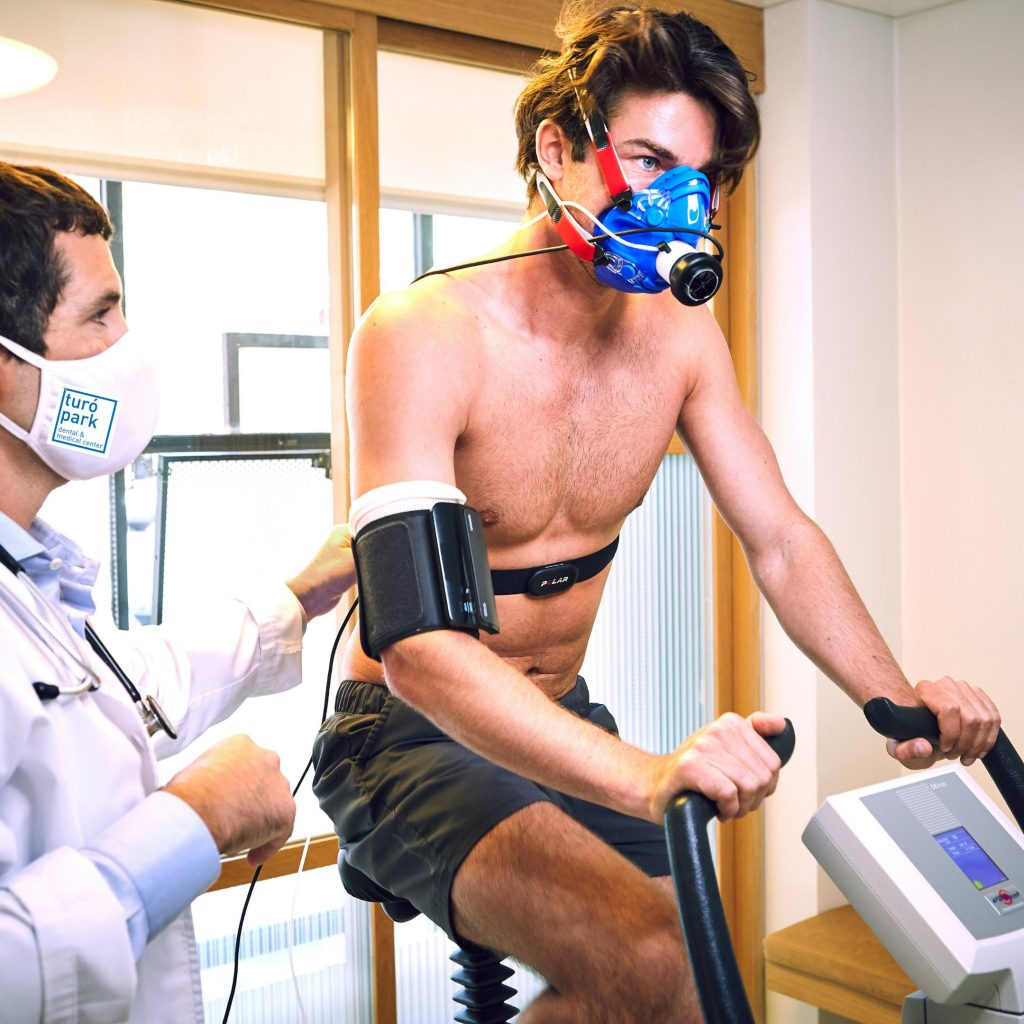 VO2 MAX stress test Barcelona at Turó Park Dental & Medical Center