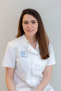 Laura Garriga, English-speaking pediatrician